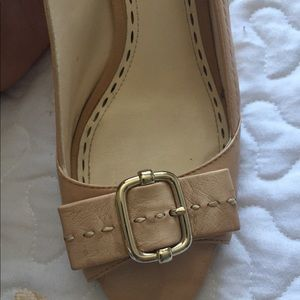 Coach Shoes - Comfortable Baby pink coach heels